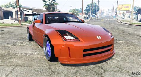 nissan z33 nissan 350z z33 stardust add on for gta 5
