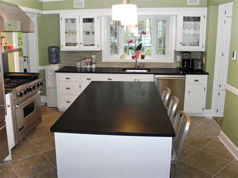 countertops for kitchens dark granite countertops hgtv