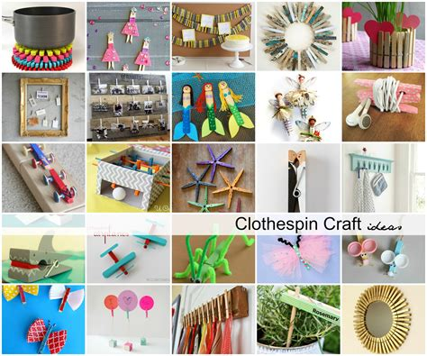 clothespin crafts clothespin craft ideas the idea room