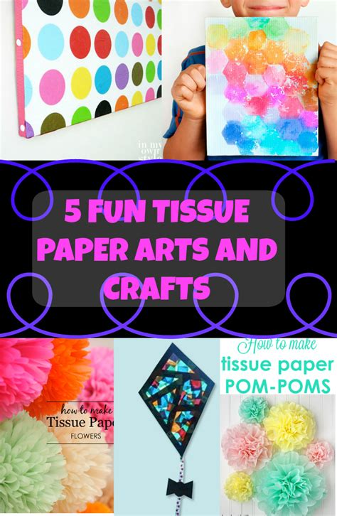 Tissue Paper Arts And Crafts - 5 tissue paper arts and crafts discountqueens