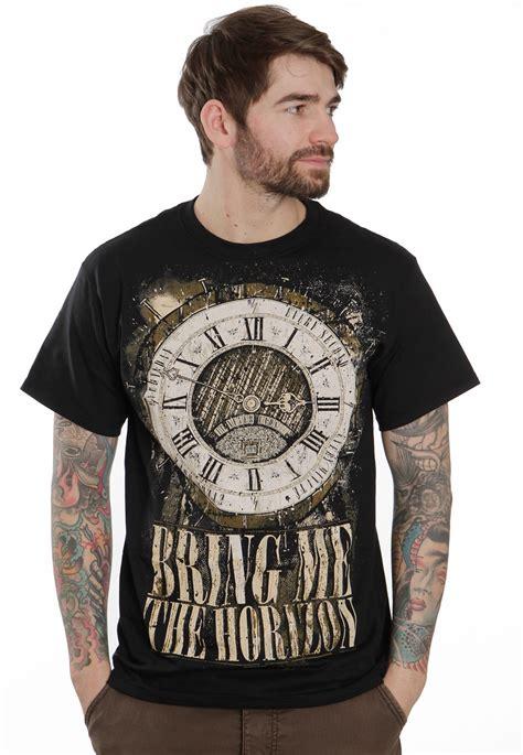 tshirt bring me the horizon 3 bring me the horizon clock t shirt impericon