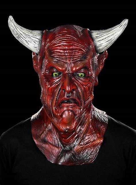 Zombie Party Decorations Satan Mask Maskworld Com