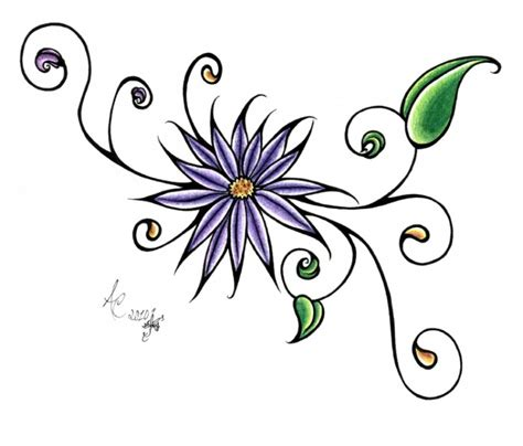simple flower tattoo designs simple flower designs studio design gallery