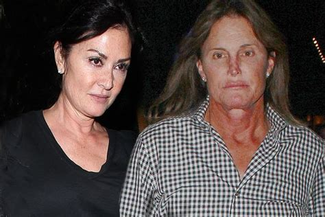bruce jenner spruced up to take mystery brunette to elton kris vs caitlyn jenner the bitter rows nasty jibes and
