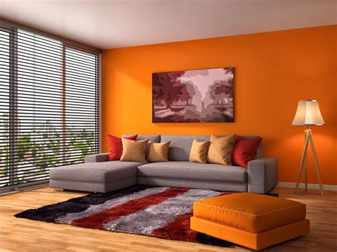 orange living room walls 25 orange living room ideas for currentyear