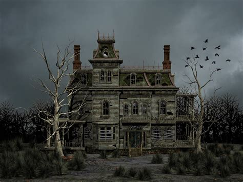 haunted mansions haunted house premade background by roys art deviantart