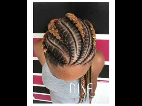 50 amazing cornrow braid hairstyle for round face