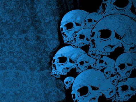 imagenes de calaveras azules imagenes de calaveras y esqueletos muy buenas im 225 genes