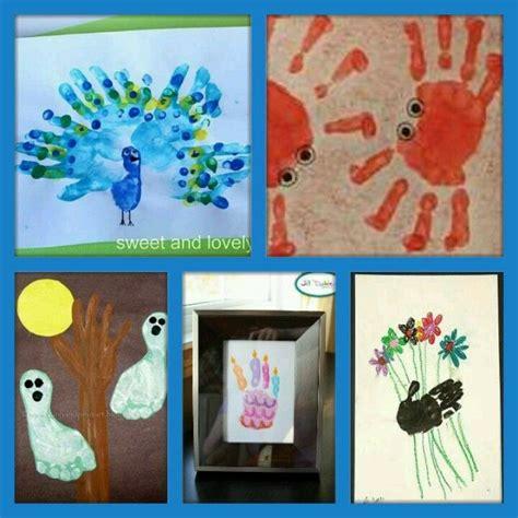 Fensterbilder Weihnachten Fingerfarbe by Handabdr 252 Cke Und Fussprint