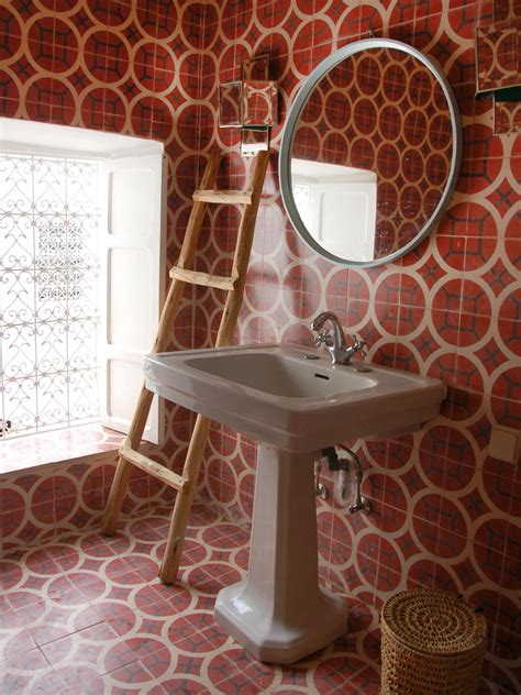 moroccan bathroom tiles photos hgtv