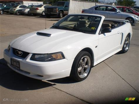 1999 white ford mustang 2001 ford mustang white images