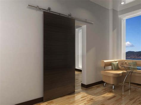 Modern Barn Door Hardware For Wood Door Modern Barn Modern Interior Barn Doors