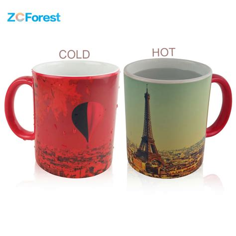 color changing mugs heat sensitive color changing mugs promotion shop for