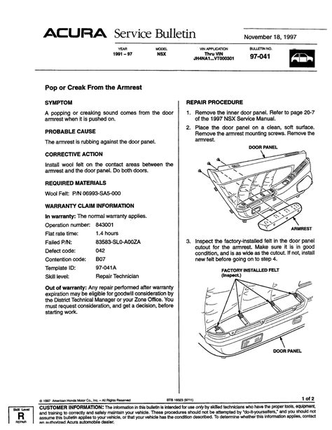service manual car repair manuals online free 1999 acura nsx parking system service manual