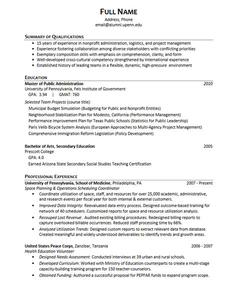 resume summary examples college graduate the best student template