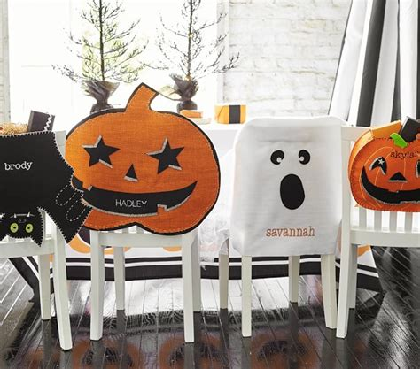 glitter burlap pumpkin chair cover pottery barn