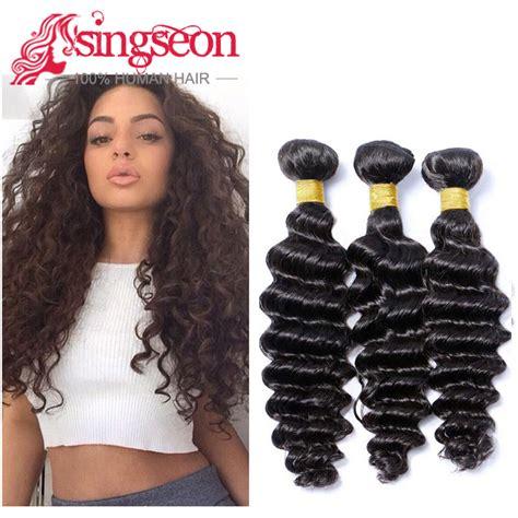 brazilian bohemian hair brazilian bohemian deep wave 3 bundles deep curly