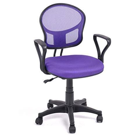 Buy Desk Chair by Furniturer 360 Swivel Purple Mesh Office Computer Desk