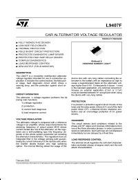 sgs thomson microelectronics l9407 datasheet