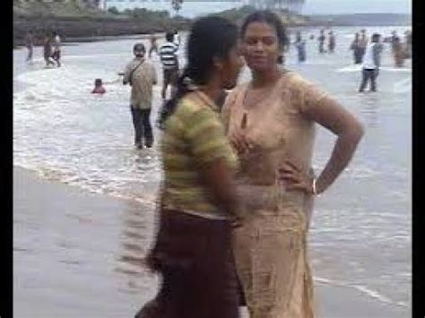 indian college like as bathing in digha
