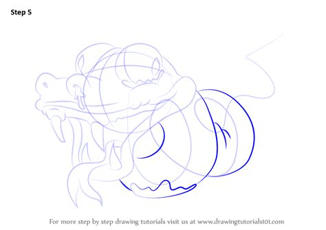 Tutorial Python Twisted   step by step how to draw twisted python from the ugglys