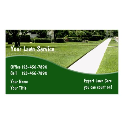 gardening business cards templates landscaping business card templates bizcardstudio