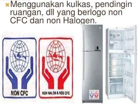 Kulkas Non Cfc lapisan ozon v