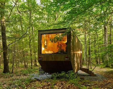 getaway tiny home escapes 8 171 inhabitat green design getaway is a new harvard startup that lets city slickers