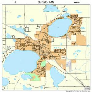 buffalo map buffalo minnesota map 2708452