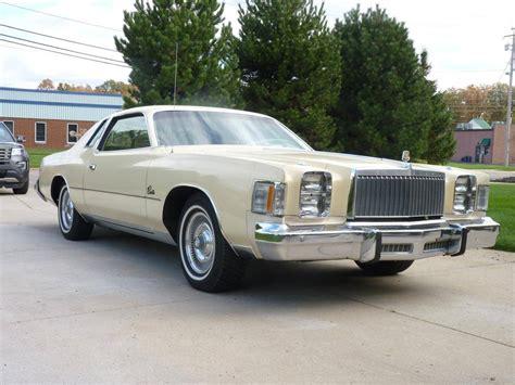 Chrysler For Sale 1979 chrysler cordoba for sale 2030232 hemmings motor news