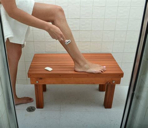 diy shower bench beautiful human leg on wood bench for diy shower bench