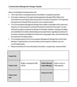 communication management plan template communication plan template free word documents downloads