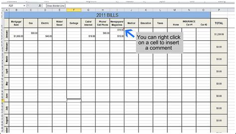 Excel Bill Tracker Template by Best Photos Of Monthly Bill Spreadsheet Monthly Bill