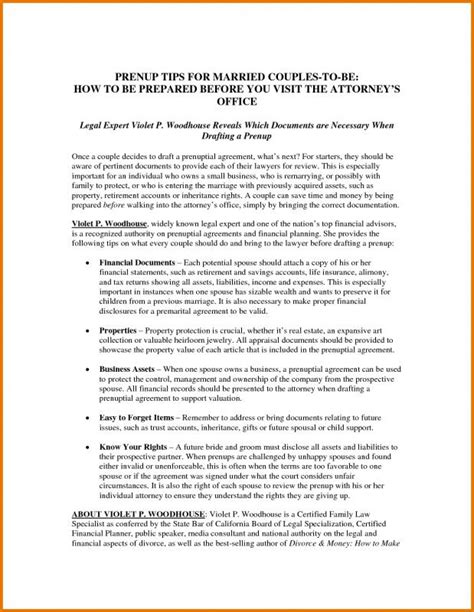 Prenup Agreements Template Template Business Prenuptial Agreement Ny Template