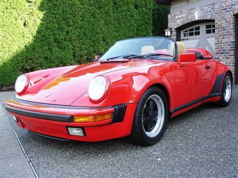 1989 porsche speedster for sale 1989 porsche 911 speedster german cars for sale blog