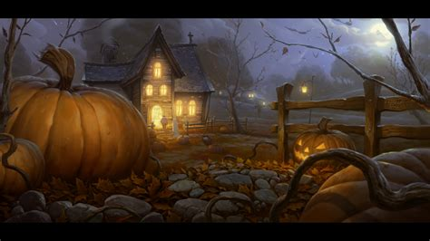halloween house halloween images halloween house hd wallpaper and background photos 32462796