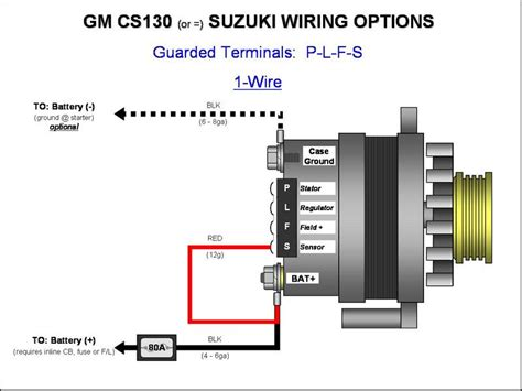 gm one wire alternator diagram 187 gm cs130 cs144 alternator wiring plfs 1 wire gm alternator diagrams gm cs130 cs144