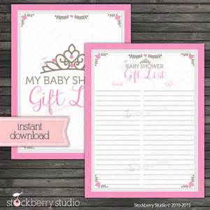 Baby Shower Guest List Template by Doc 600771 Free Printable Baby Shower Guest List Baby