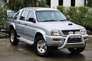 mitsubishi triton 2005 2005 mitsubishi triton glx r review auto cars