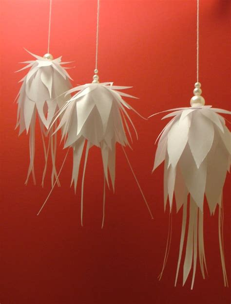 How To Make Hanging Paper Decorations - 30 hanging decoration ideas