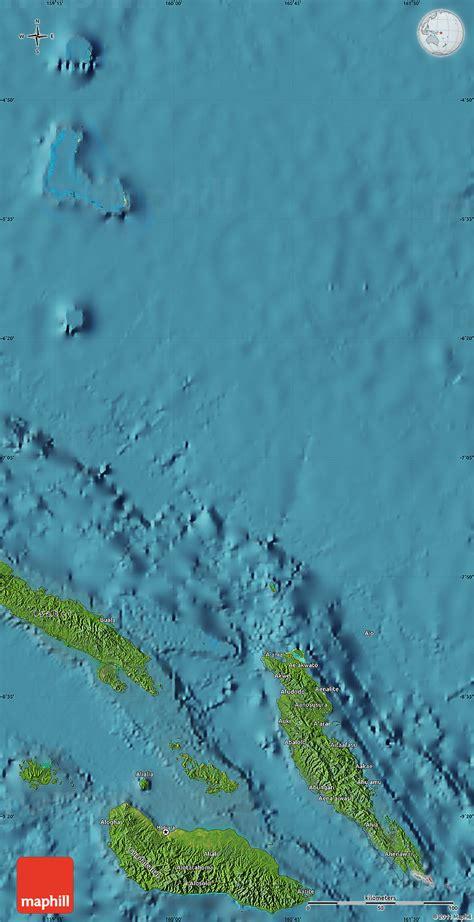satellite map  malaita