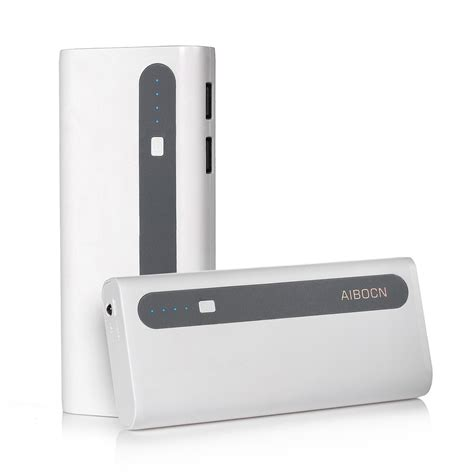 Power Bank Lg aibocn 10000mah dual usb external battery charger power bank for cell phone lg