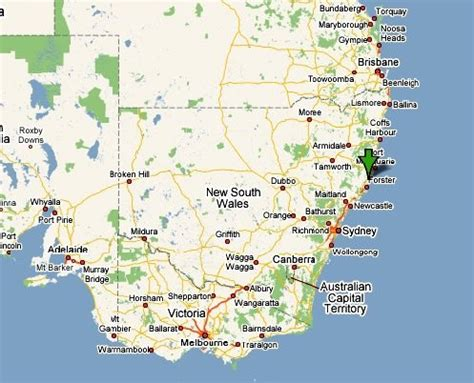 map of south east australia neals dairy welcome to the manning valley