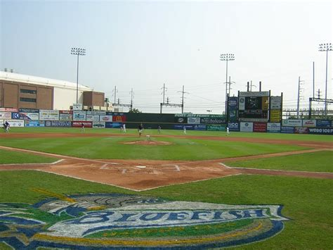 The Backyard Harbor by Panoramio Photo Of Bridgeport Bluefish Ballpark At