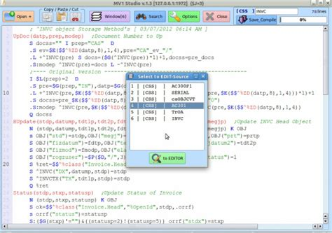 Mumps Programmer by Mv1studio Globaleditor Mumps V1 Database And Cais Applications For Linux