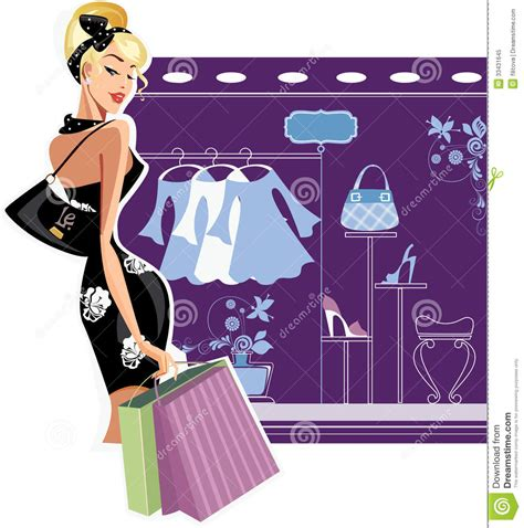 Shopping Mode by Shopping Fashion Royalty Free Stock Photo Image