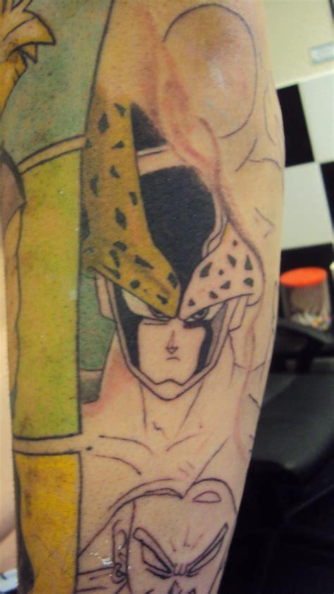 Dragonball Tattoo By Hulfie On Deviantart Z Tattoos