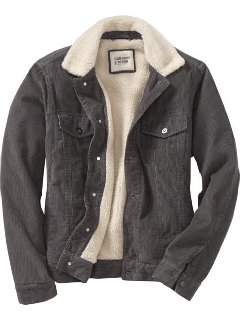 Fleece Lined Corduroy Jacket s sherpa lined cord jackets product image things i