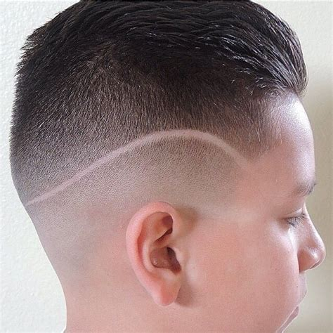bowl fade haircut hard part with slick back fade hairstyle gallery