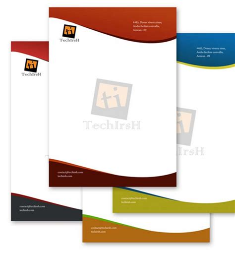 Template Id Card Cdr by 10 Free Premium Letterhead Templates